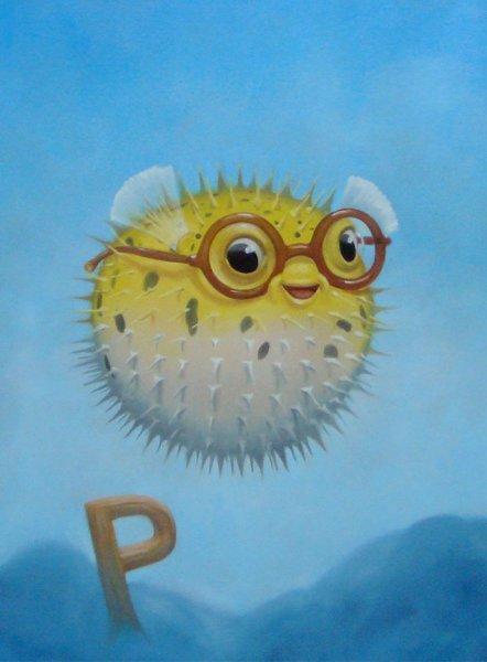 porcupinefishart